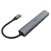 Akasa AK-CBCA22-18BK USB Type-C 5-In-1 Hub with HDMI & Ethernet