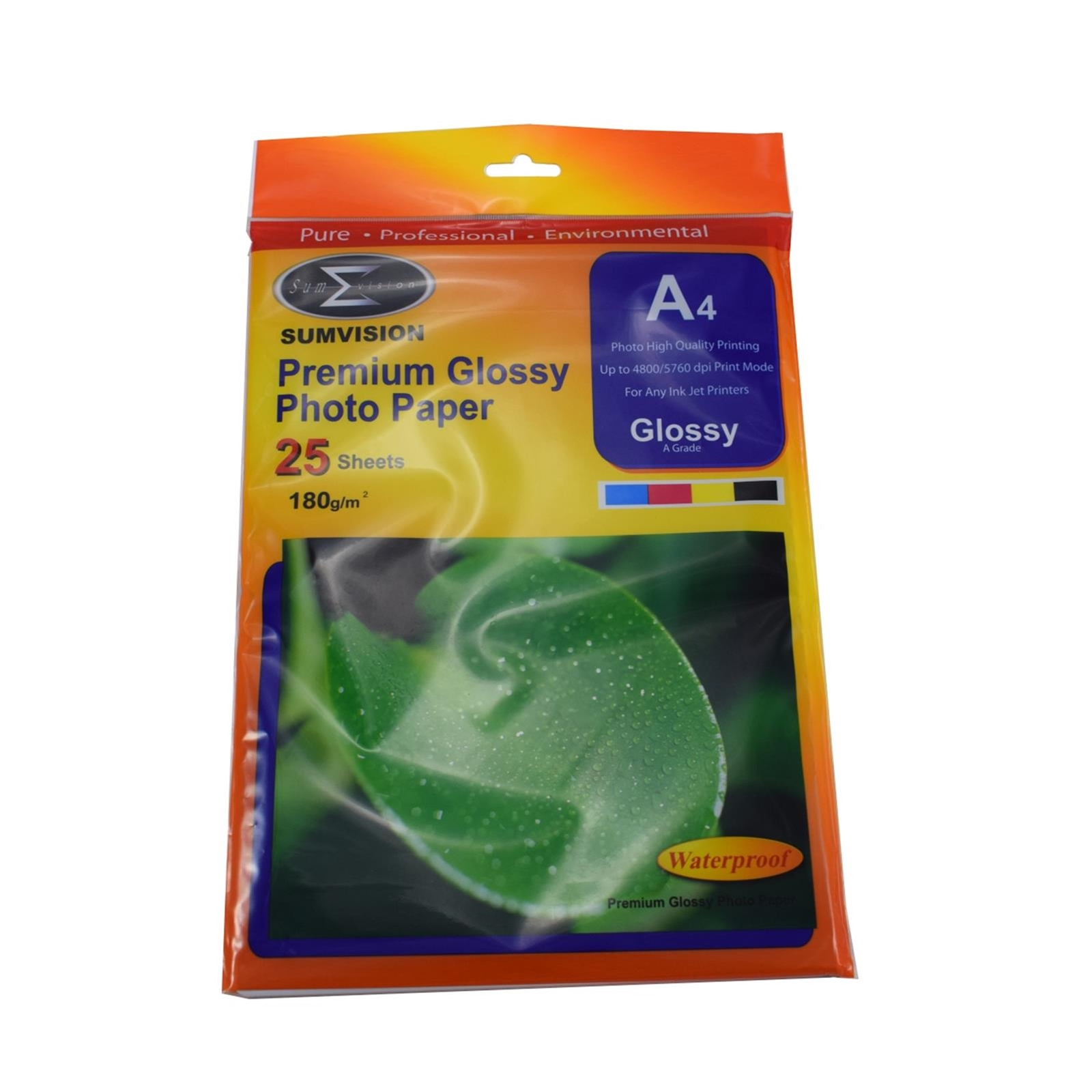 Sumvision A4 180gsm (25 pack) Glossy Photo Paper